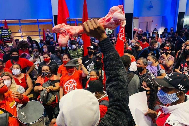 MTST fará mais manifestações como a da Bolsa de Valores, afirma Boulos