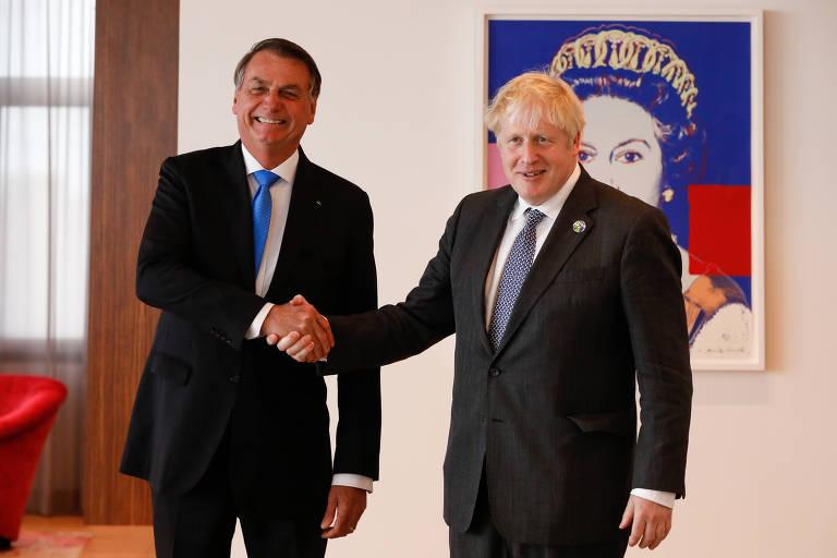 Pedido de ajuda que Bolsonaro diz ter ouvido de Boris Johnson vira incógnita no governo