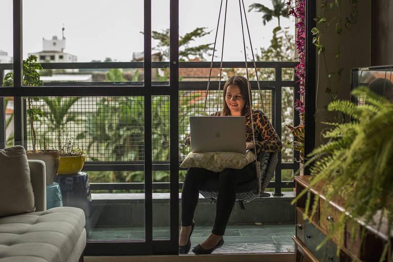 Engenheira de software, Laísa Masini teve chance de escolher em qual emprego ficar durante a crise