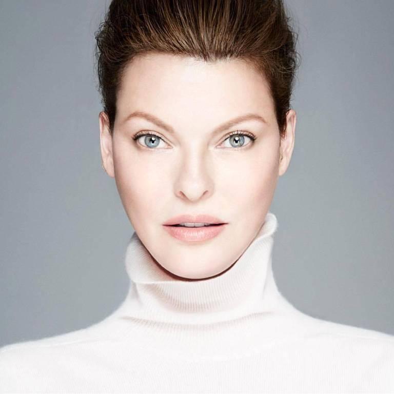 Imagens da ex-modelo Linda Evangelista