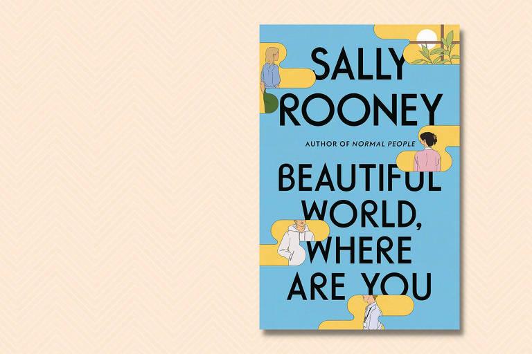 """Capa da versão em inglês do livro """"Belo Mundo, Onde Você está"""", de Sally Rooney"""