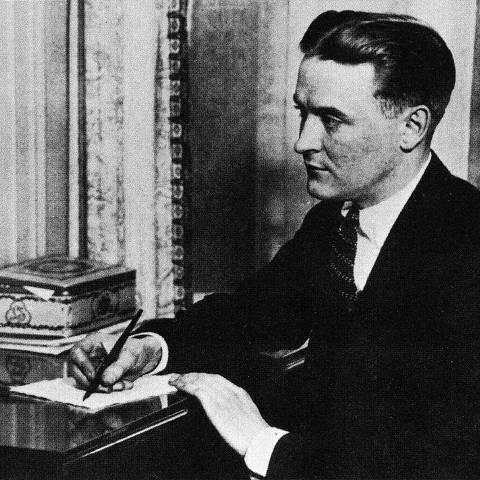 ORG XMIT: 183301_0.tif Francis Scott Fitzgerald - Banco de Dados (Divulgação)