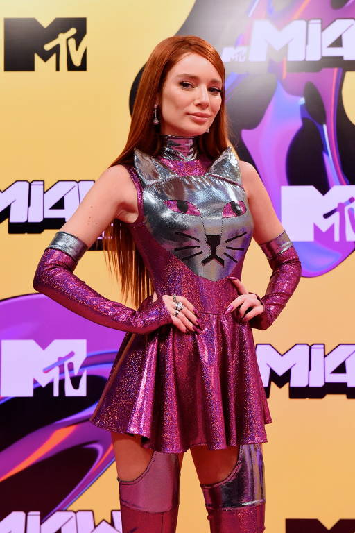 Pink carpet no MTV Miaw 2021