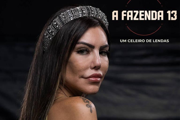 A Fazenda 13: Liziane Gutierrez é a primeira eliminada do programa