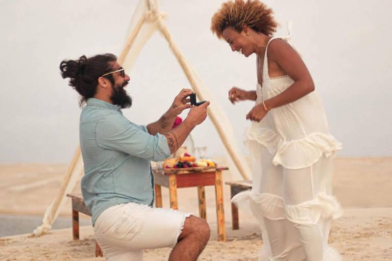 Sheron Menezzes é pedida em casamento