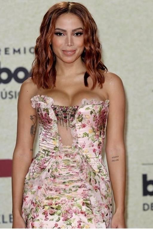 A cantora Anitta posotu foto em sua rede social