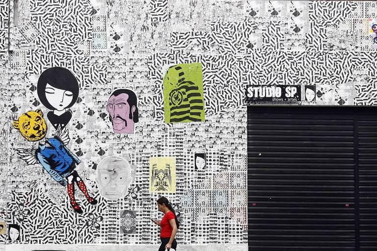 Fachada de 2008 do Studio SP, na rua Augusta, em São Paulo (SP)