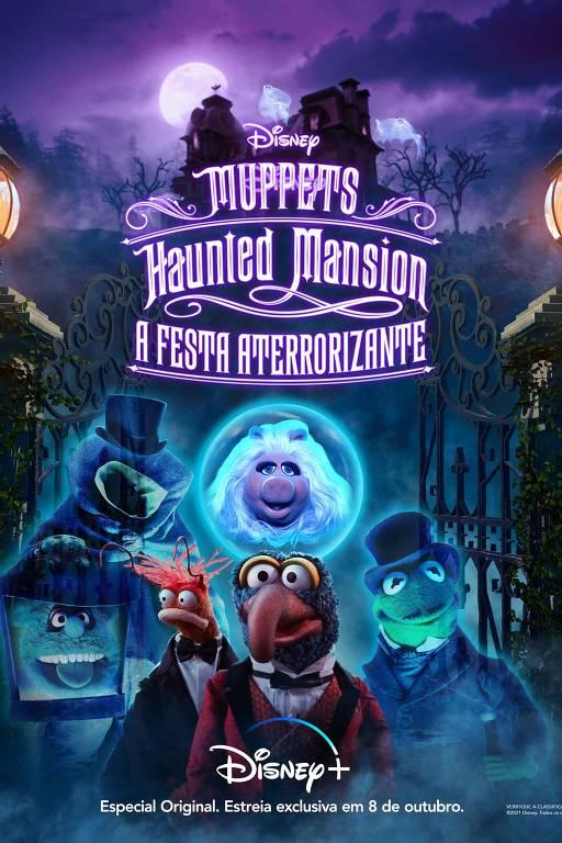 Cenas do especial  Muppets Haunted Mansion: A Festa Aterrorizante
