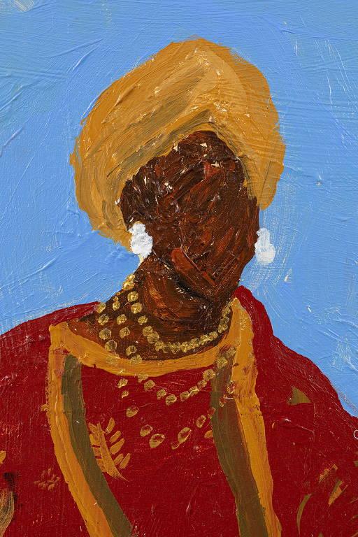 Elian Almeida denuncia mito da democracia racial em suas pinturas