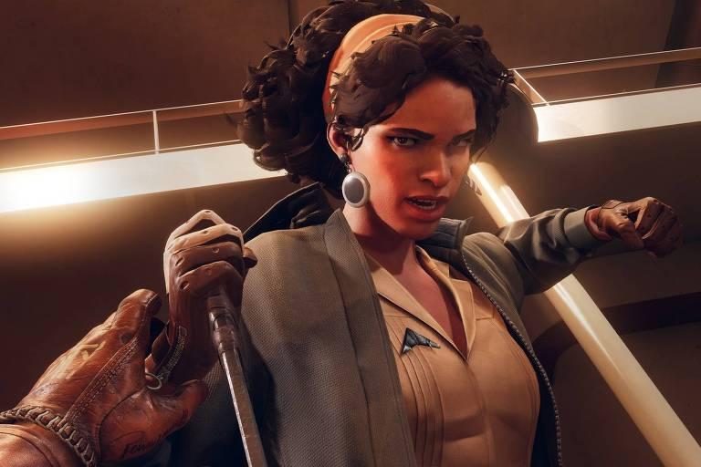 cena de videogame