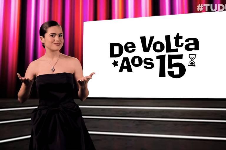 """Maisa Silva fala sobre o filme """"De Volta aos 15"""" durante o festival Tudum, da Netflix"""