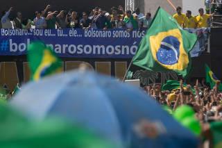 PROTESTO 7 SETEMBRO / STF / PLANALTO / BOLSONARO