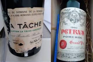 Polícia Federal recuperou duas garrafas de vinho