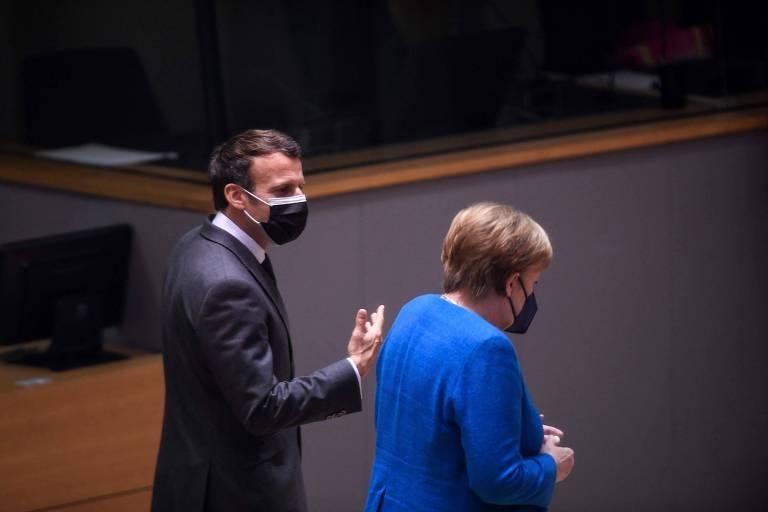 Macron poderá liderar a União Europeia após a saída de Angela Merkel?