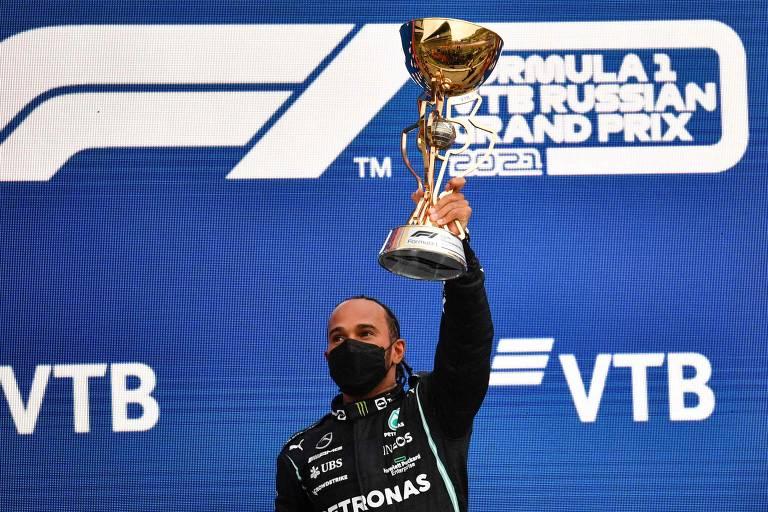 Vencedores da F1 em 2021