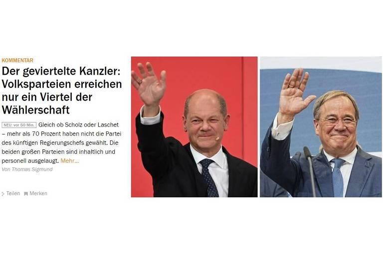 Governo alemão deve seguir 'pragmático' entre EUA e China
