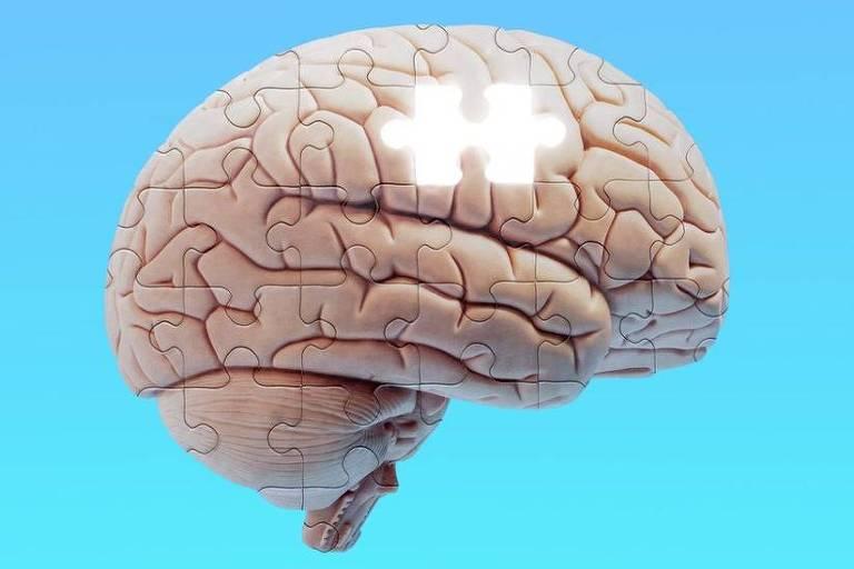 imagem de reprodução mostra ilustração de um cérebro