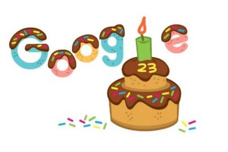 Google comemora 23 anos
