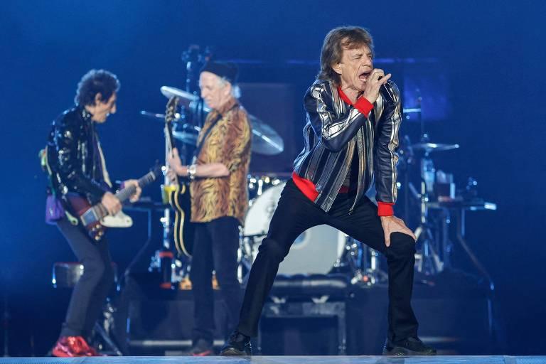 Rolling Stones homenageiam Charlie Watts em primeiro show da turnê 'No Filter'