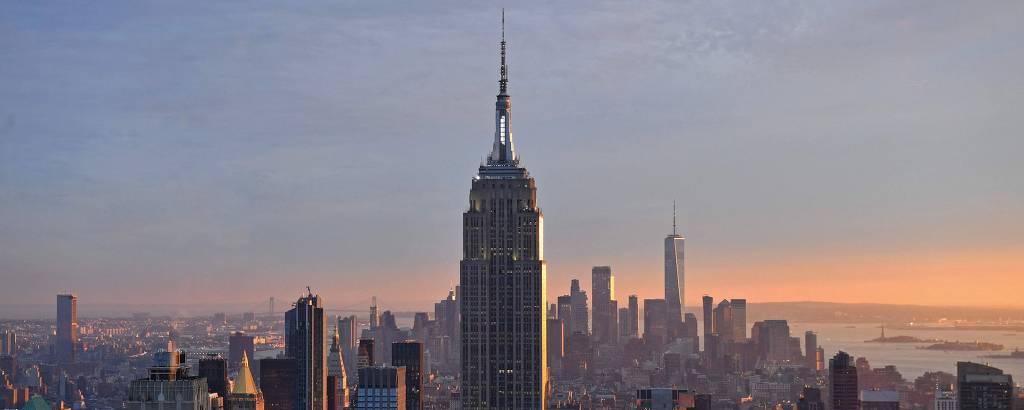 O Empire State Building, em Nova York