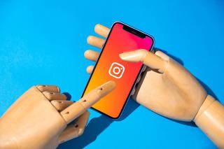 O aplicativo Instagram