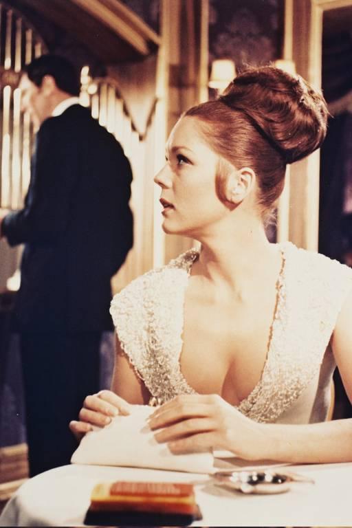 '007 a Serviço Secreto de Sua Majestade' é o único filme da franquia em que James Bond é interpretado por George Lazenby; Diana Rigg também estava no elenco
