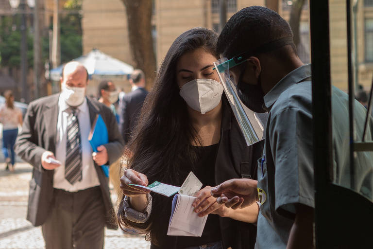 O Tribunal de Justiça de São Paulo passou a exigir o passaporte da vacina em seus fóruns e tribunais