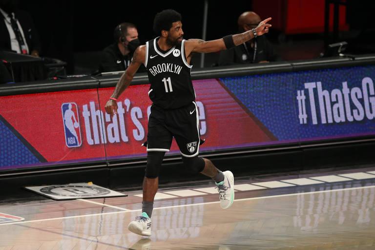 Kyrie Irving faz parte de minoria da NBA que é contra a vacinação