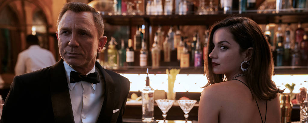Daniel Craig e Ana de Armas no novo filme de '007', 'Sem Tempo Para Morrer'