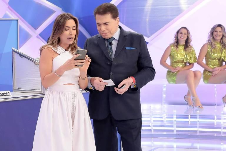 Silvio Santos convoca filha para resgatar audiência de seu programa