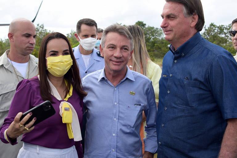 Visita do presidente Jair Bolsonaro (sem partido) a Boa Vista (RR) para comemorar mil dias de governo