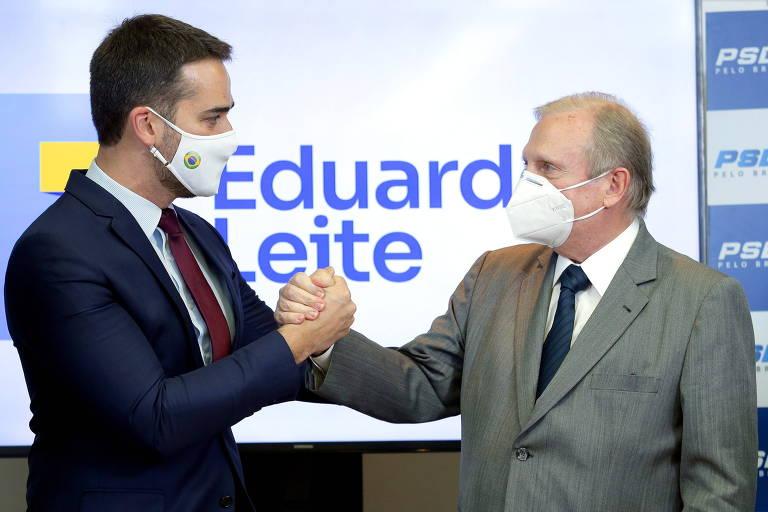 Não sou candidato a vice, do Ciro ou de ninguém, diz Eduardo Leite