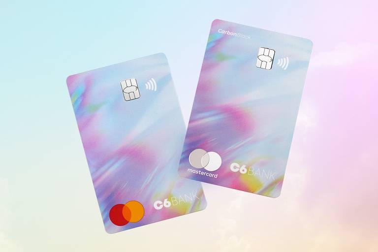 C6 Bank vai ter cartão com as cores do arco-íris