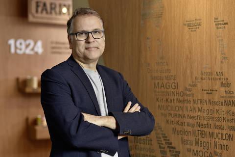 Frank Pflaumer, vice-presidente de comunicação de marketing da Nestlé Brasil