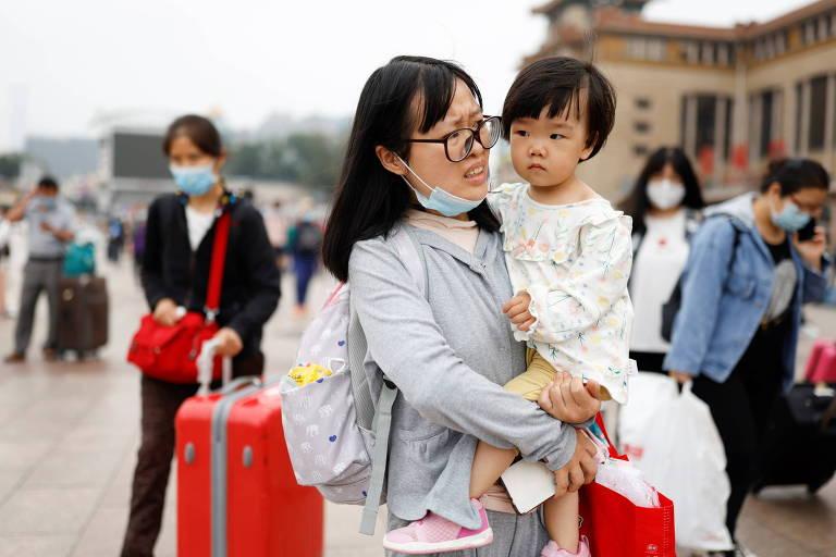 China promete mais rigidez contra violência doméstica para aumentar taxa de natalidade