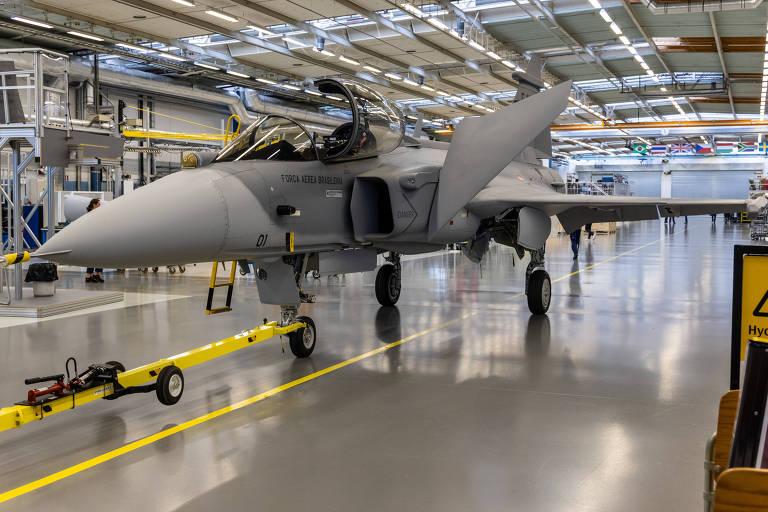 FAB recebe caças Gripen para operação no primeiro semestre de 2022