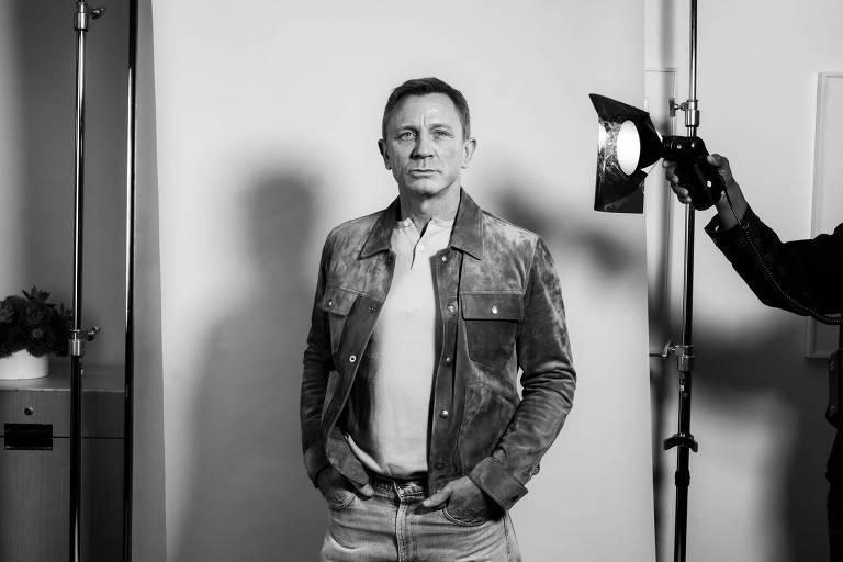Imagens do ator Daniel Craig