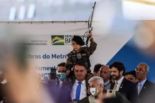 Presidente Jair Bolsonaro Evento 1000 dias governo