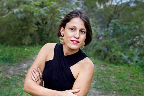 A cantora e compositora portuguesa Maria do Carmo de Carvalho Rebelo de Andrade ComIH, artisticamente conhecida como Carminho, no Rio de Janeiro (RJ)
