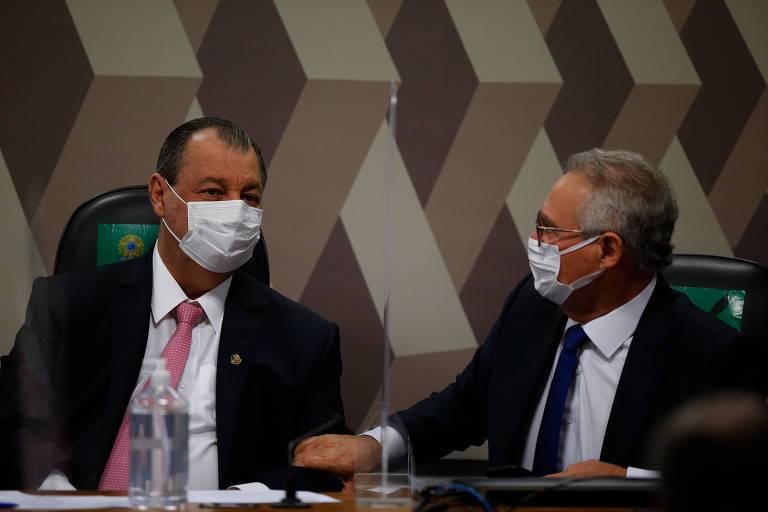 Omar Aziz expõe crise com Renan e diz que ninguém é dono da verdade para impor relatório da CPI