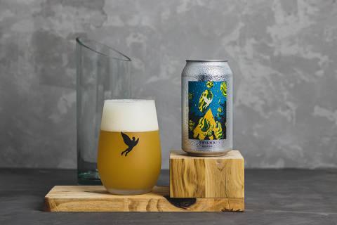 Cerveja Brasa da Trilha, que leva lúpulo nacional