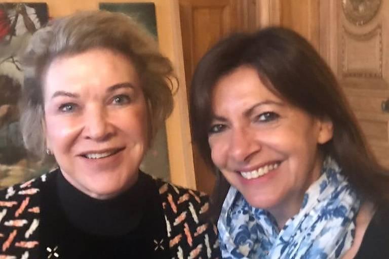 Em encontro articulado por Lula, Marta Suplicy debate política brasileira com prefeita de Paris