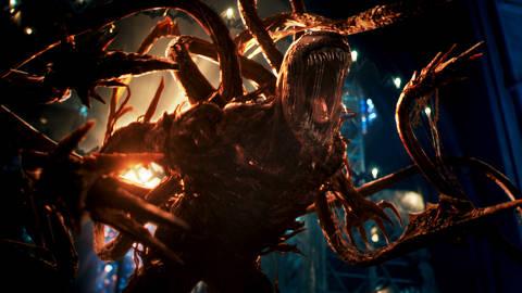 Cena do filme 'Venom: Tempo de Carnificina', dirigido por Andy Serkis