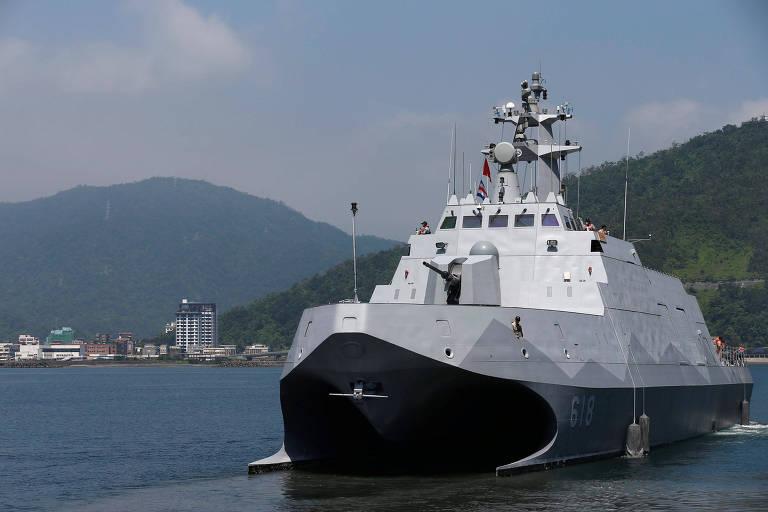 China estará pronta para invadir Taiwan em 2025, diz governo da ilha