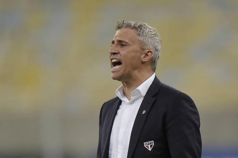Hernán Crespo vive seu pior momento à frente do São Paulo
