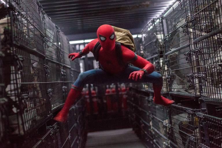 Confira imagens dos dez filmes do Homem-Aranha