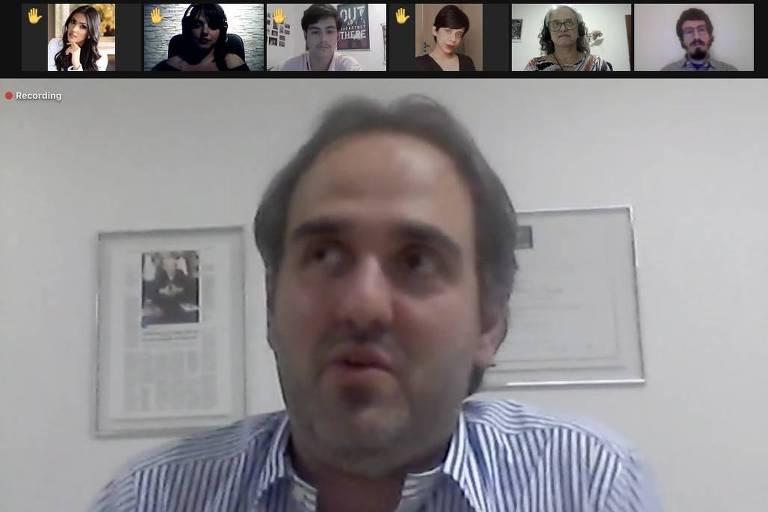 Leandro Colon, diretor da Sucursal de Brasília da Folha, participa de bate-papo com leitores