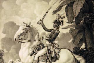 Portrait équestre de Toussaint Louverture...