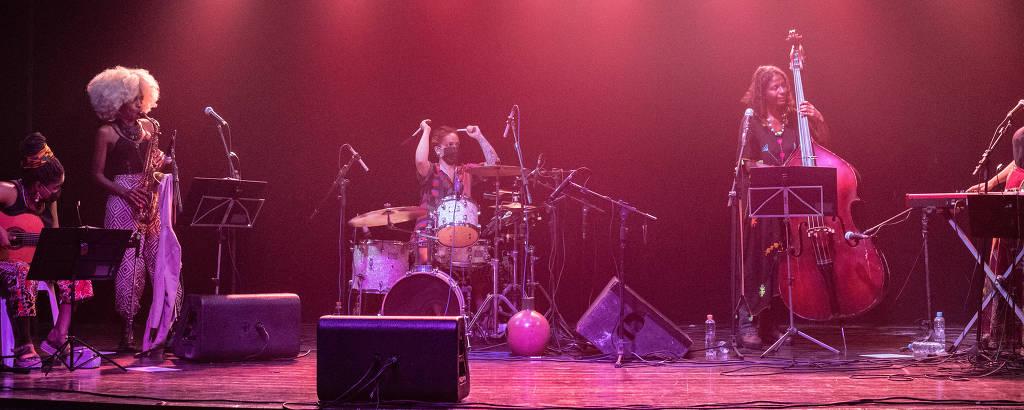 Apresentação do Jazz das Minas