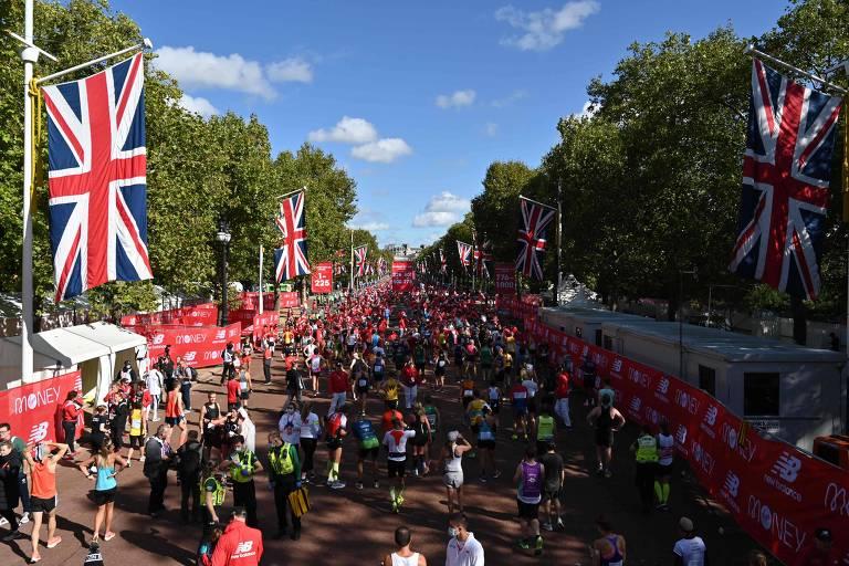 Maratonas deixam ruas da Europa mais alegres